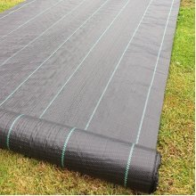 Yuzet 4m wide 100gsm weed control fabric ground cover membrane