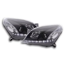 Daylight headlight Opel Astra H Year 04-10 black RHD