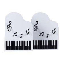Cartoon Iron Bookcase Creative Thicker Baffle-Piano White