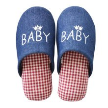 Family Winter Warm & Cozy  Indoor Shoes Child Cartoon House Slipper, G