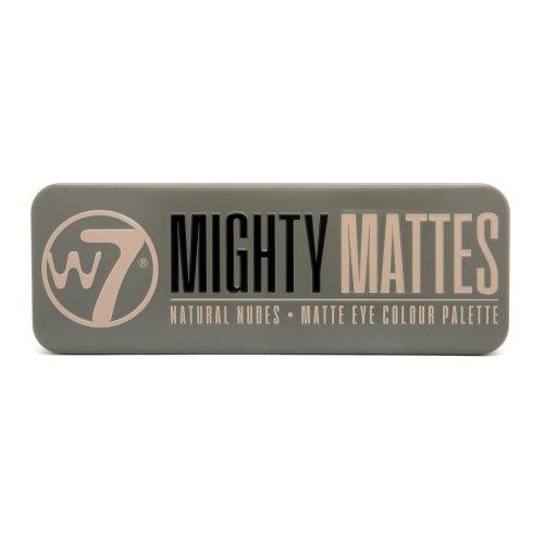 W7 Mighty Mattes Eyeshadow Palette