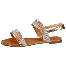 Women's Meadow Diamante Strap Flat Sandals