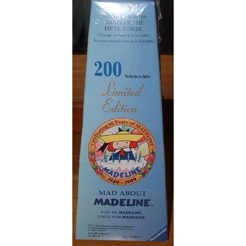 Mad About Madeline 200 Piece Puzzle Eiffel Tower 14X20