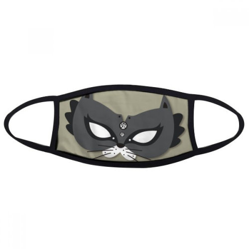 Black Cat Mask Happy Carnival Of Venice Mouth Face Anti-dust Mask Anti Cold Warm Washable Cotton Gift