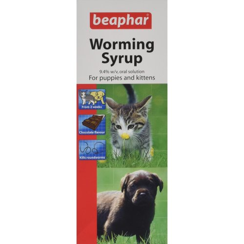 Beaphar Worming Syrup, 45 ml