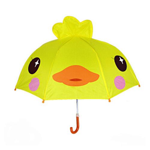 Childrens  Rainy Day Umbrella/?0-7years)Bright colors Kids Umbrella,Cute duck