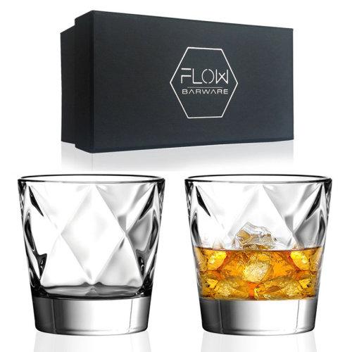 Diamond Whisky Glasses Gift Set