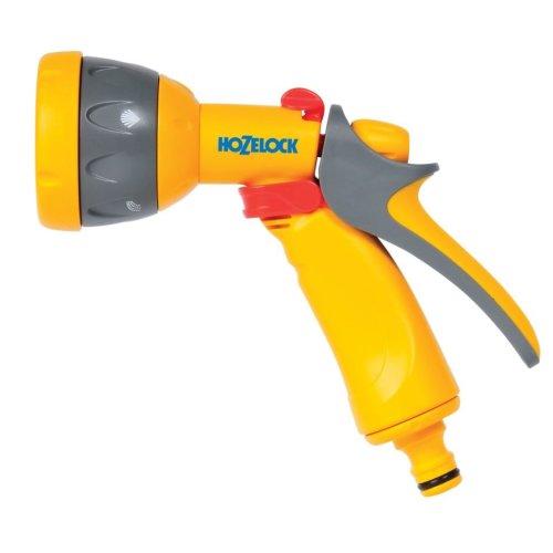 Hozelock Garden Hose Spray Gun Multi Spray Yellow 2676P0000