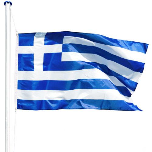 Flagpole aluminium Greece