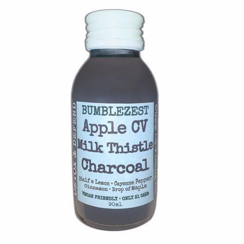 Bumblezest  Detox & Defend Apple CV  Charcoal & Milk Thistle 90ml