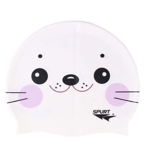 Silicone Swimming Cap Wrinkle-free Printing Cartoon Cap Kids Are Available