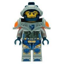 Lego Nexo Knights Clay Mini Figure Alarm Clock, Plastic, Multi-Colour