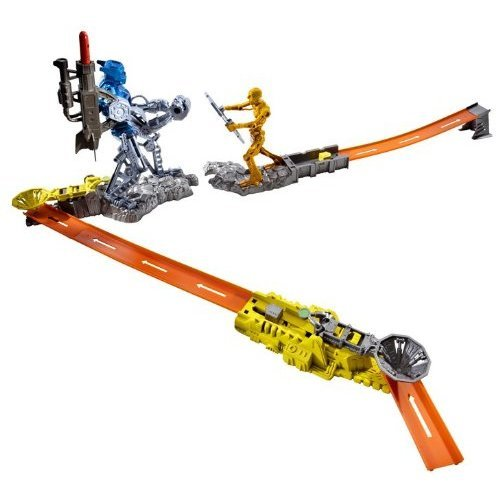 Hot Wheels Trick Tracks Cyborg Blaster Starter Set