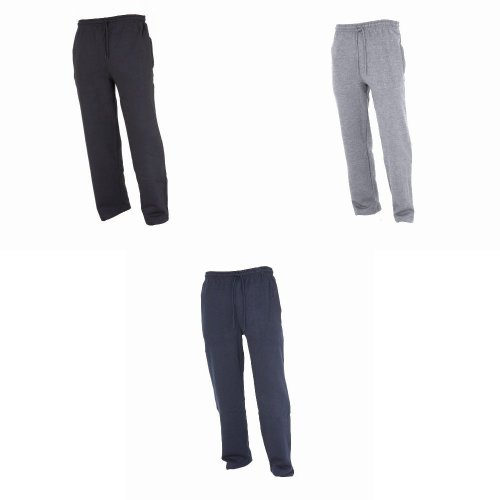 FLOSO Kids Unisex Jogging Bottoms/Pants / School Wear Range (Open Cuff)