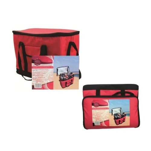 30L Cool Bag Insulated Cooler Box With Shoulder Strap Outdoor Picnic Camping
