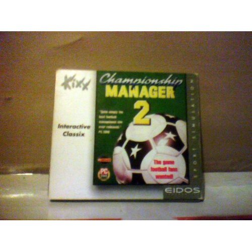 CHAMPIONSHIP MANAGER 2  PC MS-DOS