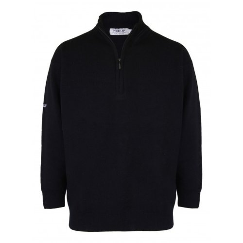 ProQuip Half Zip Lambswool Water Repellent Jumper