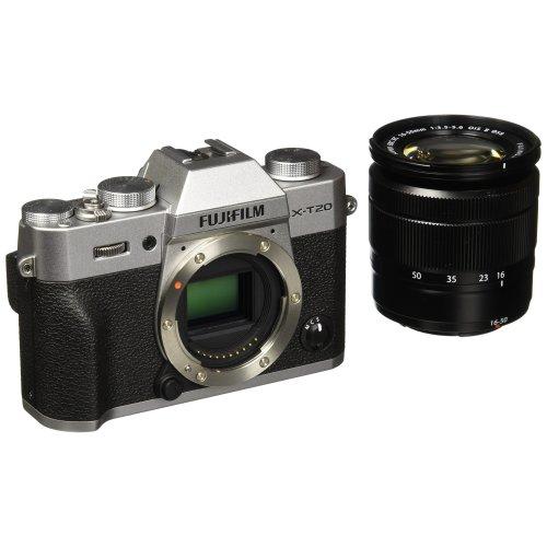 Fujifilm X-T20 with XC 16-50 mk II lens (Silver)