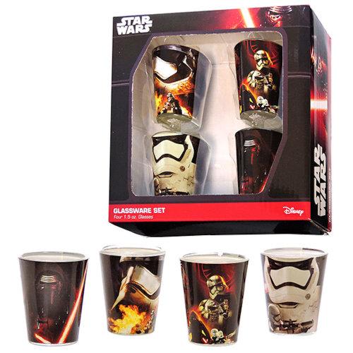 Star Wars 4 Pack Shot Glass Set