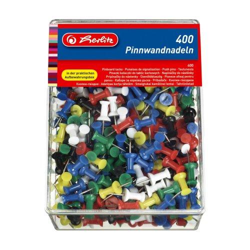 Herlitz Pinboard Tack (400 Pieces)