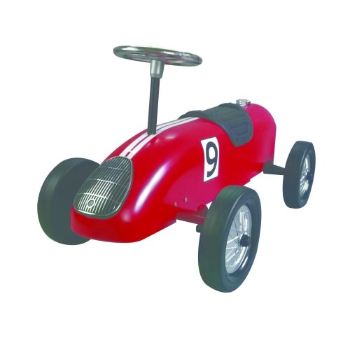 Red Retro Racer - Ride on