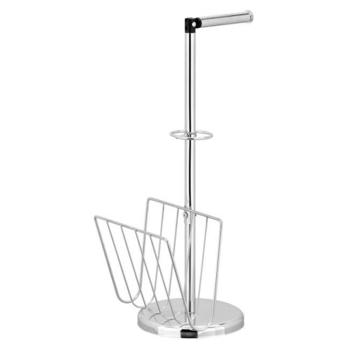 Furinno WS17200 Wayar Toilet Paper Holder with Magazine Stand