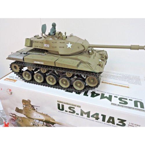 Heng Long 1/16 Radio control R/C U.S. M41A3 WALKER BULLDOG Tank 1:16