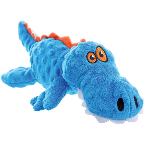 goDog Just For Me with Chew Guard Small-Blue Gator