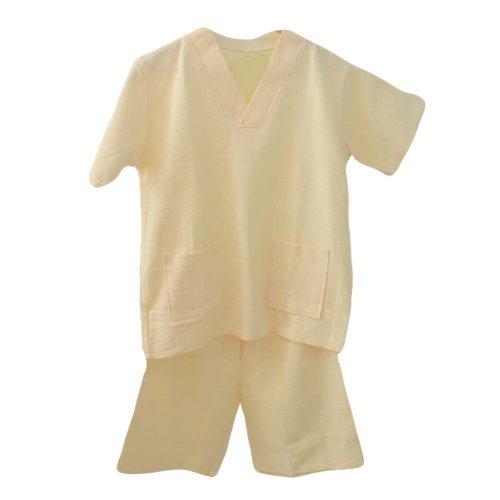 Cotton Waffle Fabric Short Pajamas Suit Loose Home Wear Khan Steam Pajamas