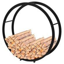 Firewood Rack Round