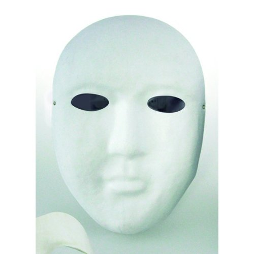 * Playbox - Mask - 150 x 215mm(pack Of 12) - Pack 12 135 175mm -  playbox mask pack 12 135 175 mm