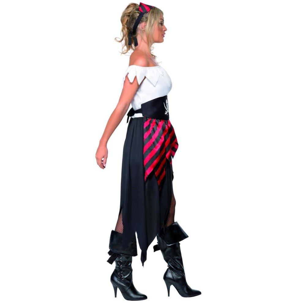 Pirate Wench Costume, Pirate Fancy Dress, UK Size 20-22