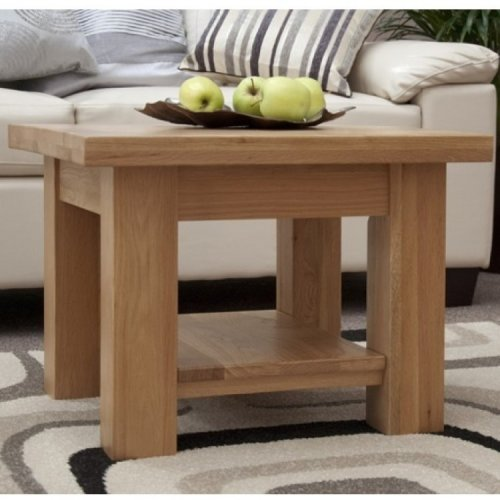 Cool Homestyle Torino Solid Oak Furniture 2X2 Coffee Table Unemploymentrelief Wooden Chair Designs For Living Room Unemploymentrelieforg