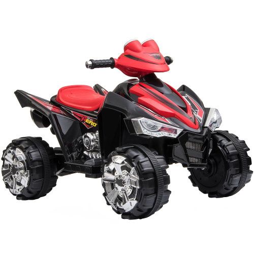 Kids' Ride-On Pro Raptor ATV | Red 12v Toy Quad Bike