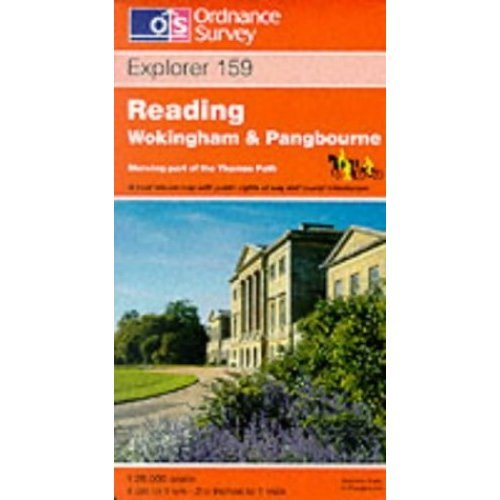 Reading, Wokingham and Pangbourne (Explorer Maps)