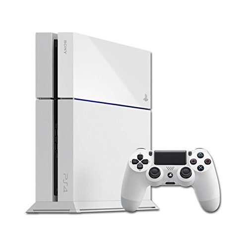 Playstation 4 Console -500GB White (UK)  (PS4) (New)