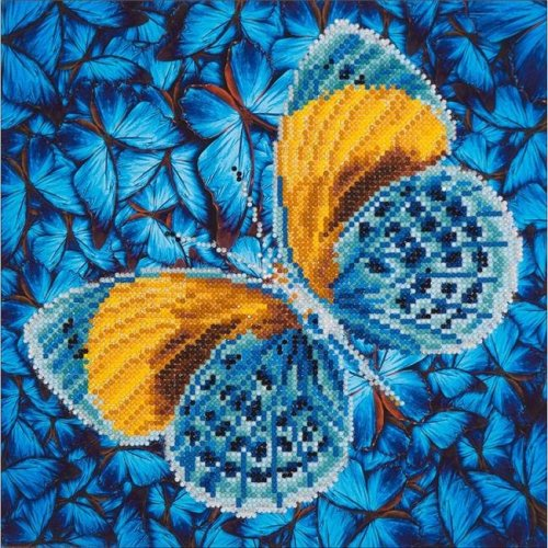 Diamond Dotz Diamond Embroidery Facet Art Kit - Flutter By Gold