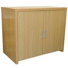 HIDEAWAY - Sideboard Office Computer Storage Desk - Oak