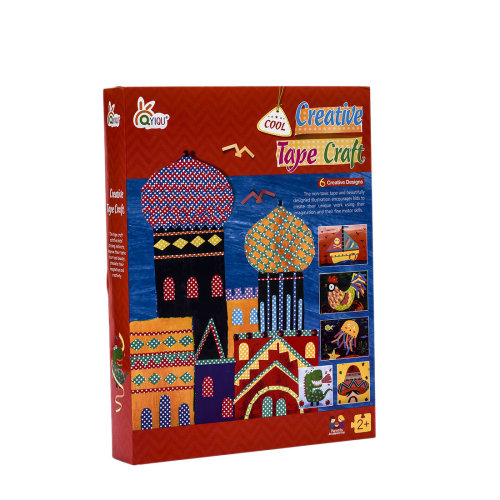DIY Creative Sticky Tape Painting Book Craft Educational Toys