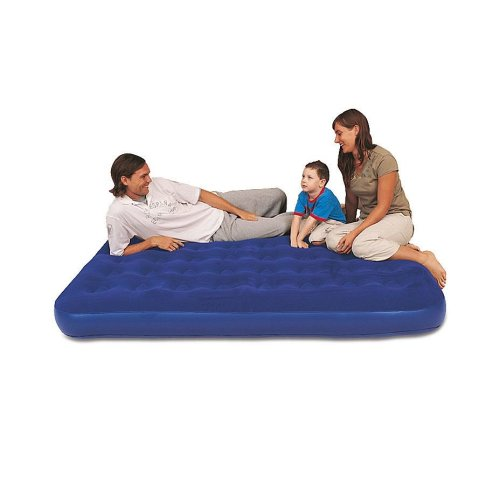 Bestway Comfort Quest Easy Inflate Flocked Air Bed - Double