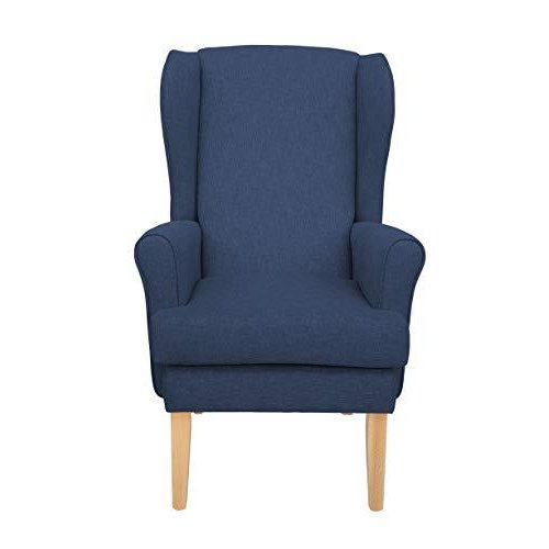 MAWCARE Highland Orthopaedic High Seat Chair - 21 x 21 Inches [Height x Width] in High Navy (lc21-Highland_h)