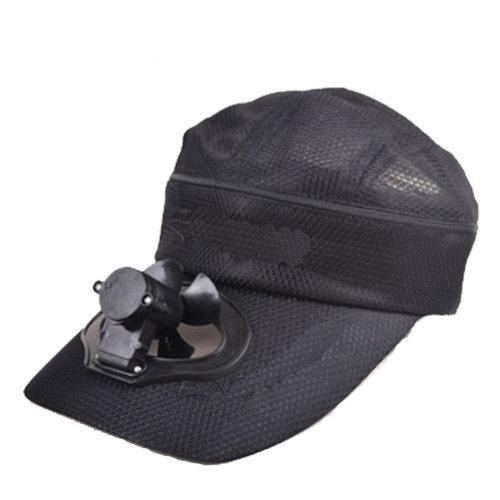 Summer Fan Hat with Fan Fishing Sun Visor Cap