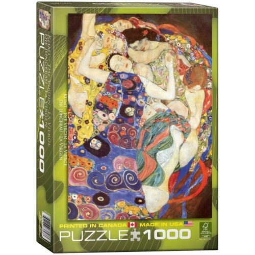 Eg60003693 - Eurographics Puzzle 1000 Pc - the Virgin / Gustav Klimt