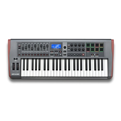 Novation Impulse 49 Keys USB Midi Controller Keyboard