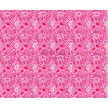 fabric paisleys candy pink - 185702