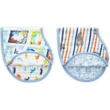 Aden + Anais Disney Baby Classic Burpy Bib 2 Pack - The Jungle book