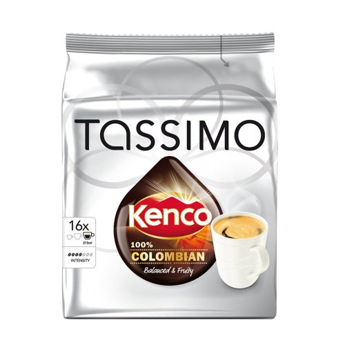 Tassimo Kenco Pure Colombian 16 Pods