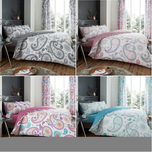 Florence Paisley Duvet Cover Bedding Set