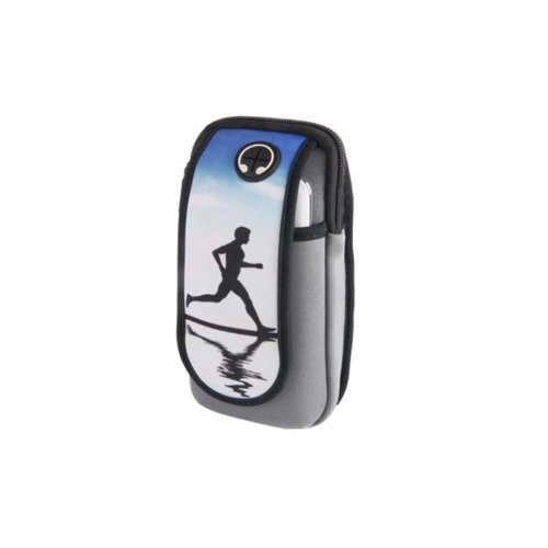 Men/Women Fitness Wrist Bag Running Traveling Hiking Mobile Phone Arm Pack_A4