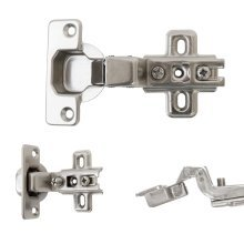 35mm Slide-on One Way Hinge Kitchen Cupboard Cabinet Door Inset 110b0 Degree